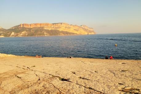 roches plates la Presqu'île Cassis